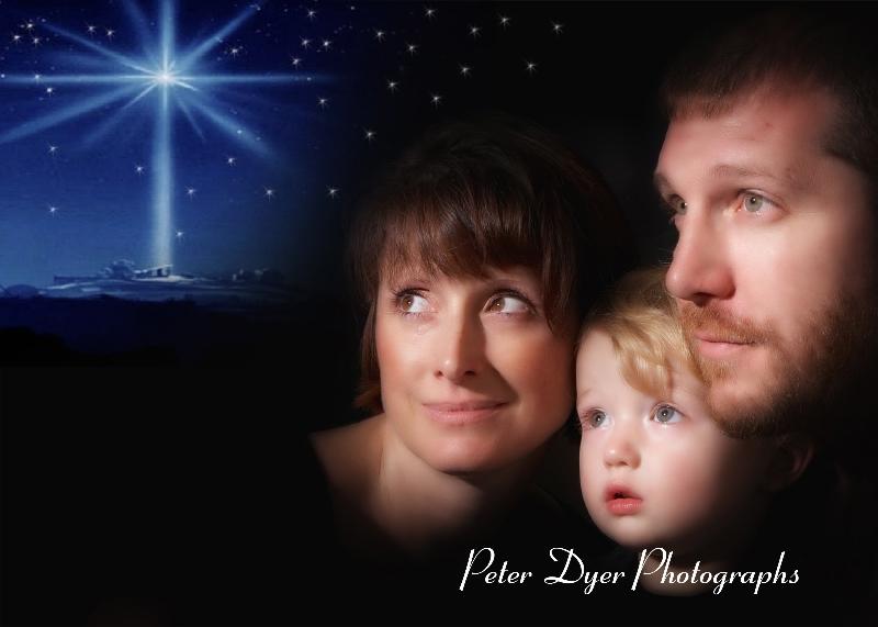 Christmas card studio shoot, Enfield_001