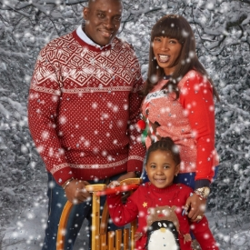 Christmas card studio shoot, Enfield_005