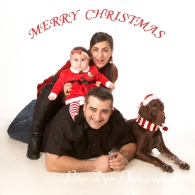 Christmas card studio shoot, Enfield_007