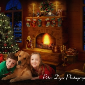 Christmas card studio shoot, Enfield_010