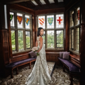 Fanhams Hall Hotel Wedding Photography by Peter Dyer Photographs 003