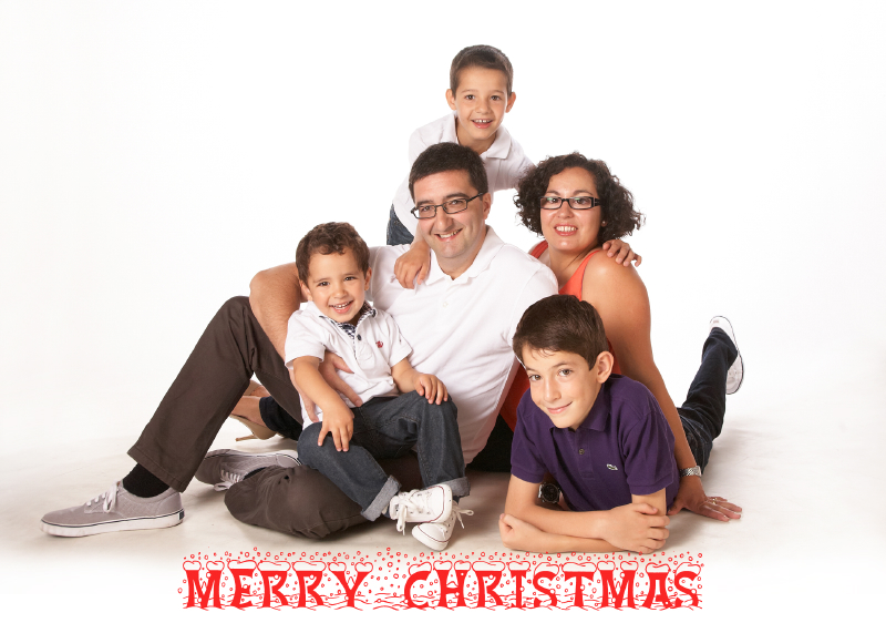 Christmas card studio shoot, Enfield_015