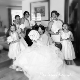 Bridal Wedding Photography by Peter Dyer Photographs 005