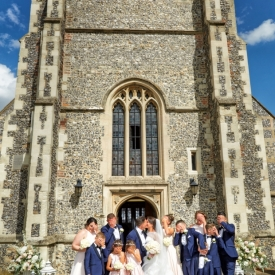 Church Wedding Photography by Peter Dyer Photographs 011