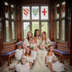 Fanhams Hall Hotel Wedding Photography by Peter Dyer Photographs 004