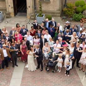 Fanhams Hall Hotel Wedding Photography by Peter Dyer Photographs 012