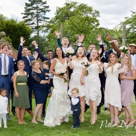 Fanhams Hall Hotel Wedding Photography by Peter Dyer Photographs 018