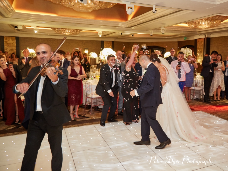 Jumeirah Carlton Tower Wedding Photography by Peter Dyer Photographs 038