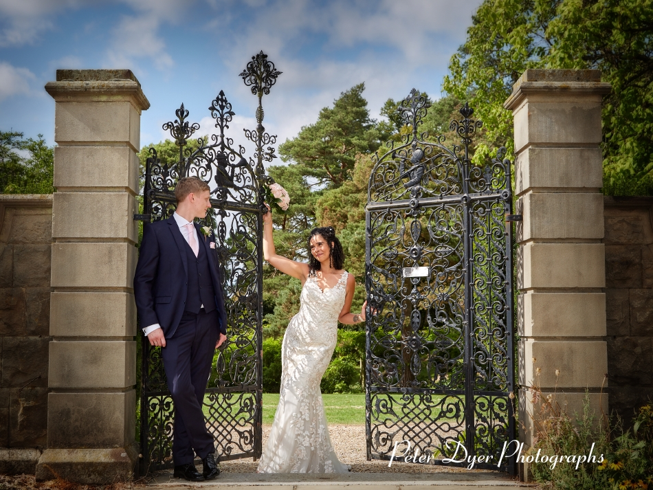 Fanhams Hall Hotel Wedding Photography by Peter Dyer Photographs 025