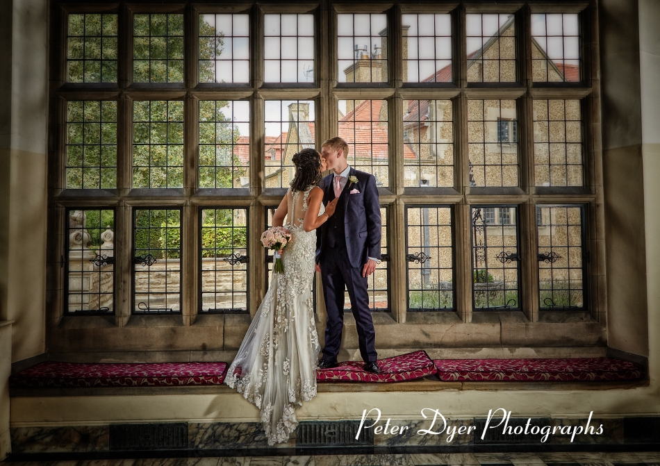 Fanhams Hall Hotel Wedding Photography by Peter Dyer Photographs 027