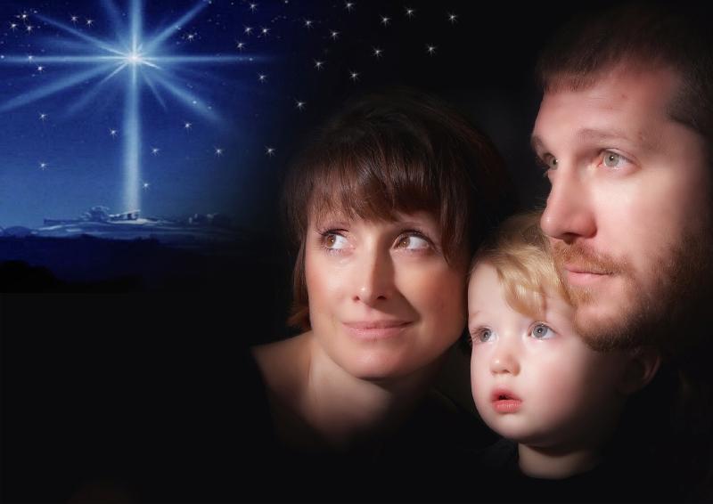Christmas portrait photographys