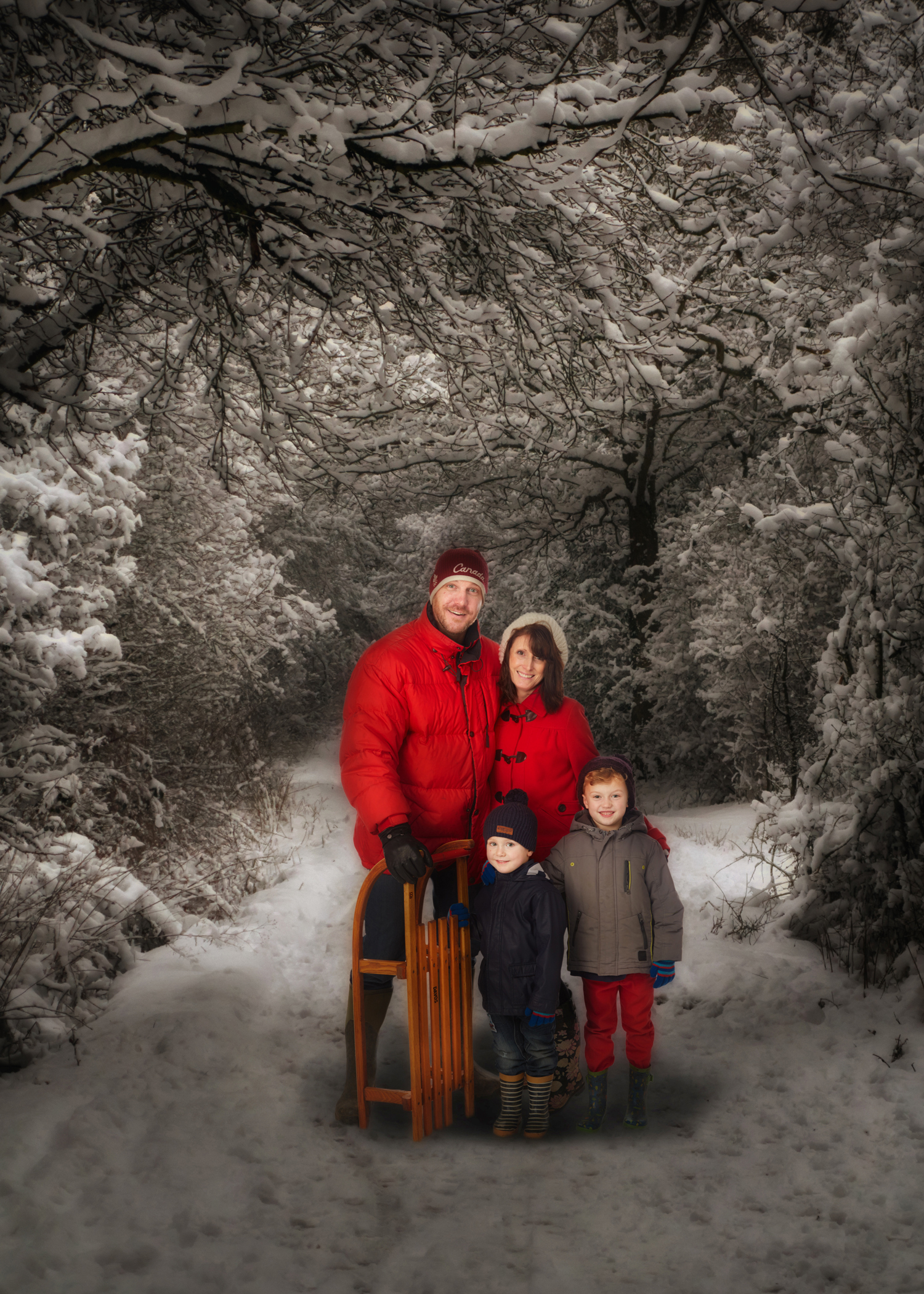 Photographic christmas cards