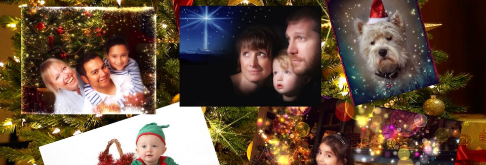 Family Christmas portraits Enfield Town