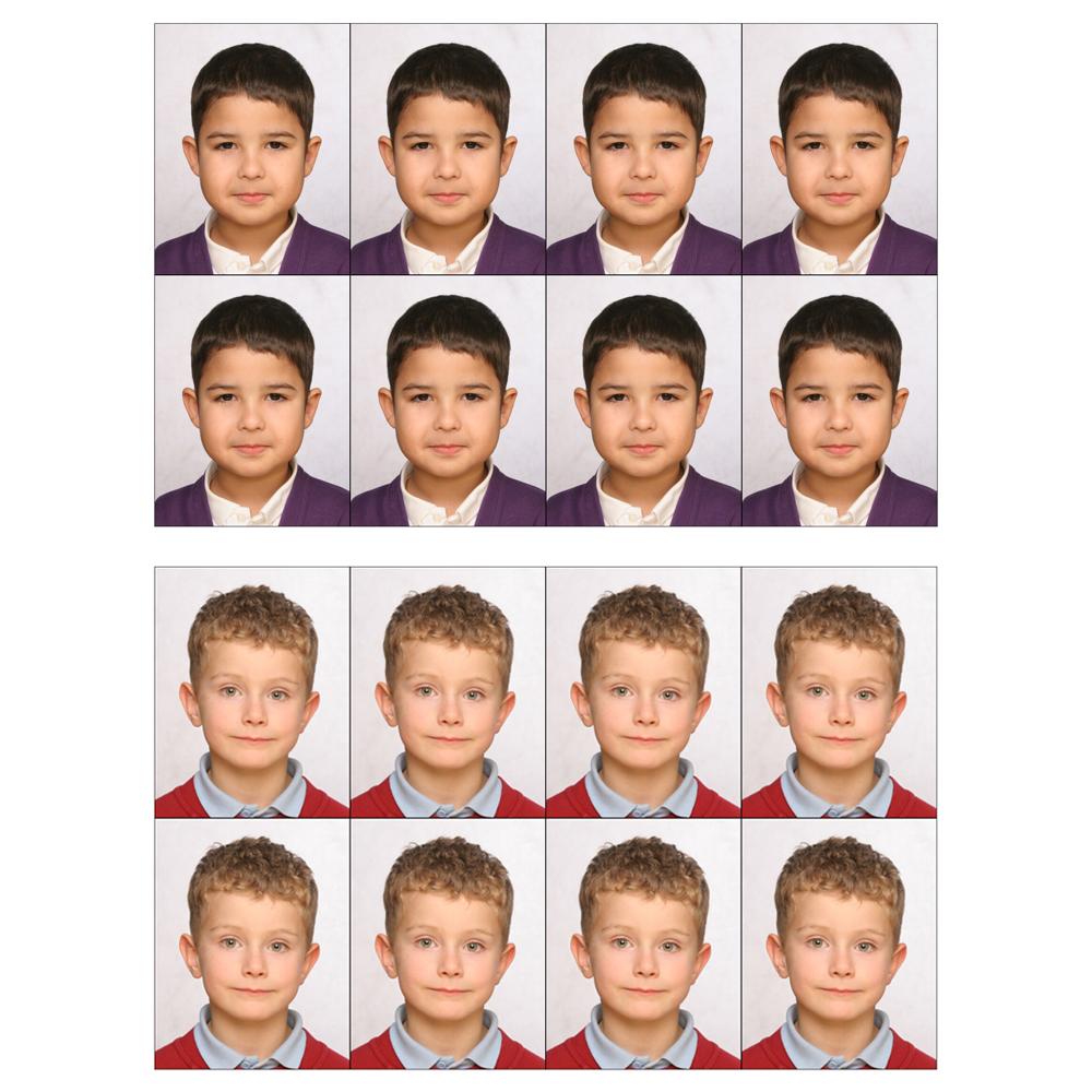 UK Child's Passport photo